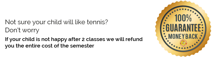 guarantee money back tiger tennis academy